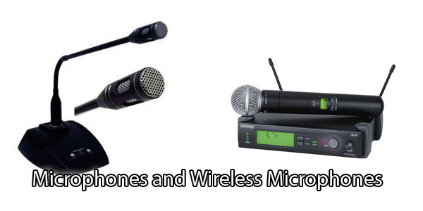 microphone-and-wireless-microphone